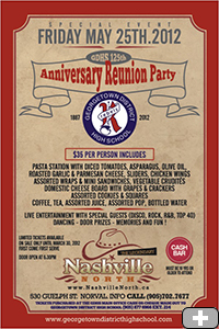 GDHS 125th Anniversary Reunion Party